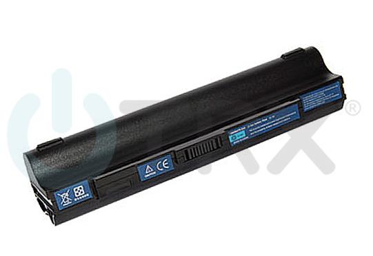 Baterie TRX UM09B44 pro Acer Aspire One 531 / 751, 6600mAh, 11.1V, Li-Ion, černá