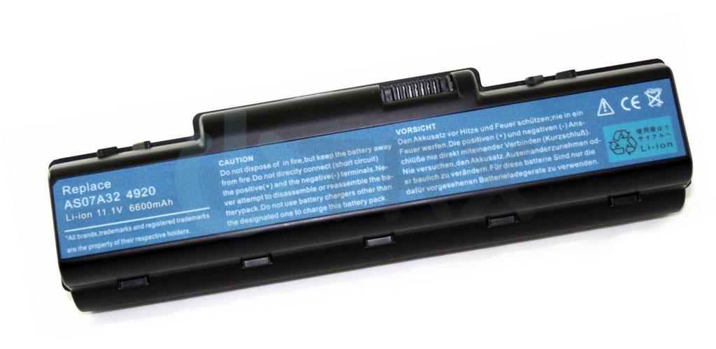 TRX baterie pro Acer Aspire 4310 - Li-Ion 11.1V 6600mAh