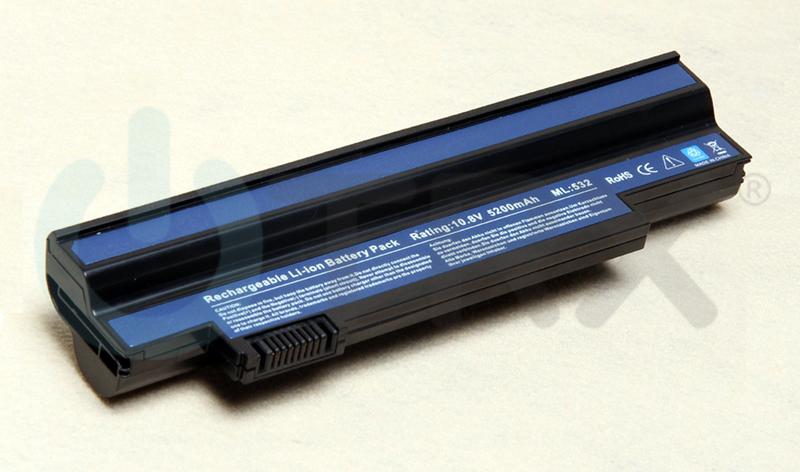 Baterie pro Acer Aspire One 532H, 532G - UM09G31, UM09G51 - 5200 mAh