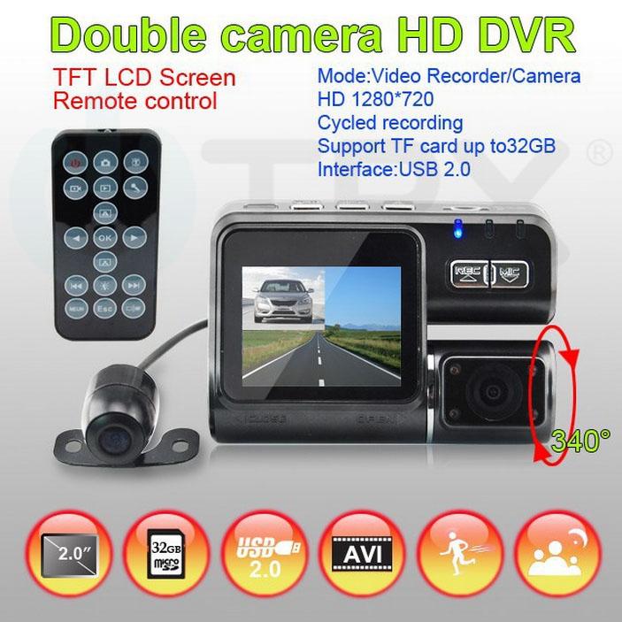 Kamera do auta Uwing X6L Carcam Dual HD