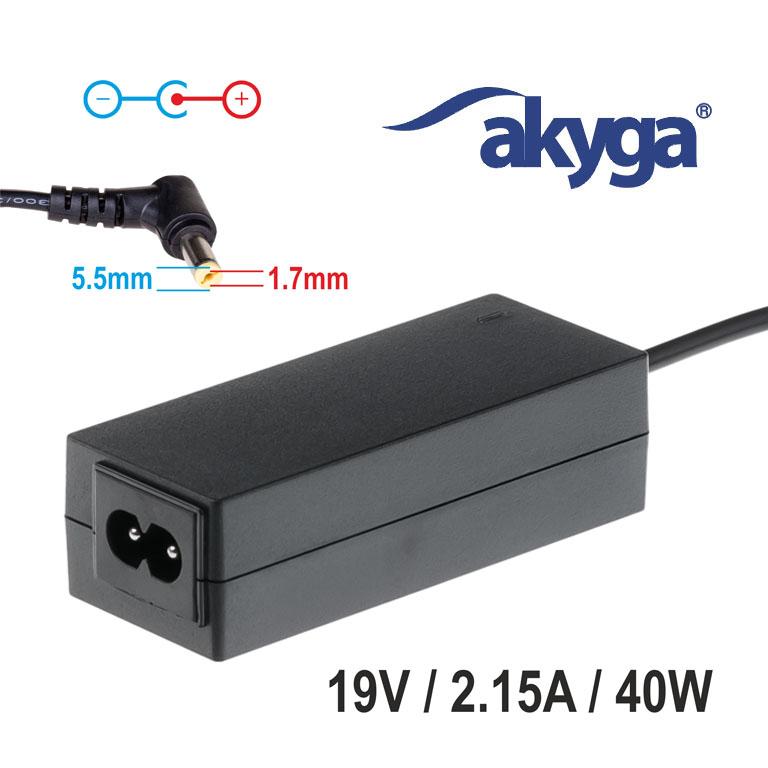 Napájecí zdroj Akyga AK-ND-47 19V/2.15A 40W 5.5x1.7mm konektor - neoriginální