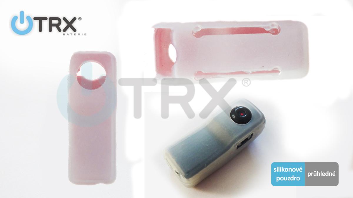 TRX MD80H04 - silikonové pouzdro pro mini kameru Uwing MD80 a HD810