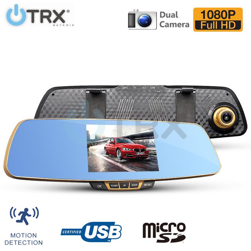 "Kamera do auta Yikoo A86 - 5"" LCD, Full HD, G-senzor, zadní kamera"