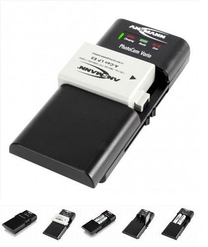 Ansmann PHOTO CAM Vario - univerzální nabíječka foto - video baterií