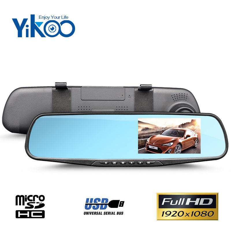 """Kamera do auta Yikoo DV110 - 4,3"""" LCD, Full HD, G-senzor"""
