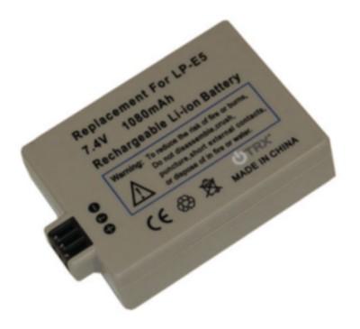 Baterie Canon LP-E5 - Li-Ion 950mAh - neoriginální