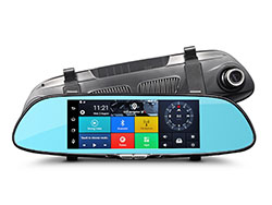 "Kamera do auta Uwing C08 - 7"" LCD, Full HD, G-senzor, GPS, WiFi, Android"