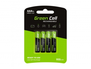 Baterie Green Cell AAA 950mAh 4ks
