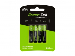 Baterie Green Cell AAA 800mAh 4ks